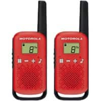motorola Talkabout T42 Walkie-Talkie Rot
