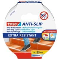 tesa Anti-Rutschband Anti-Slip 25 mm x 5 m Transparent