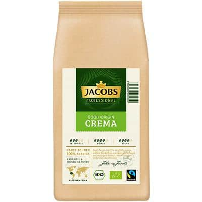 Jacobs Kaffeebohnen Cafe Crema Good Origin Bio 1 kg