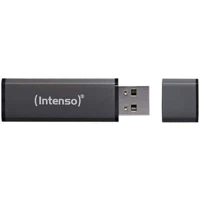 Intenso USB 2.0 USB-Stick Alu Line 32 GB Anthrazit