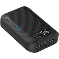 XLayer Powerbank Pure Carbon 7500 mAh Schwarz
