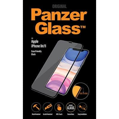 PanzerGlass Bildschirmschutz für iPhone XR/11 Case-Friendly Transparent