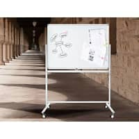 Master of Boards Whiteboard Stanford Lackiert Mobil & drehbar 80 x 110 cm
