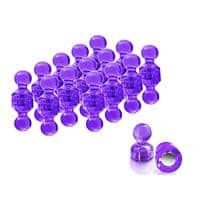Master of Boards Neodym-Magnete Push-Pins Lila 30er Sets