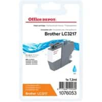 Office Depot Kompatible Brother LC-3217C-Tintenpatrone Cyan