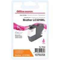 Office Depot Kompatibel Brother LC3219XLM Tintenpatrone Magenta