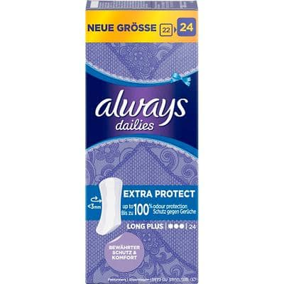 always Slipeinlagen Dailies Extra Protect 24 Stück