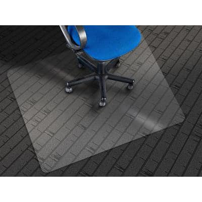 Bürostuhlunterlage Floordirekt Pro Öko Transparent PET 1150 x 1350 mm