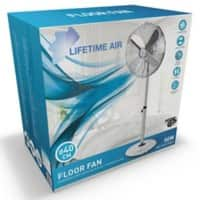 LIFETIME AIR Standventilator 120 cm Chrom