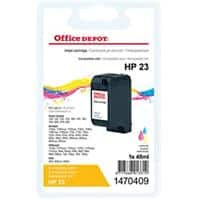 Kompatible Office Depot HP 23 Tintenpatrone C1823D 3 Farbig