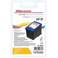 Kompatible Office Depot HP 57 Tintenpatrone C6657A 3 Farbig