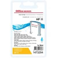 Kompatible Office Depot HP 11 Tintenpatrone C4836A Cyan