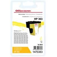 Kompatible Office Depot Tintenpatrone HP 363 C8773EE Gelb