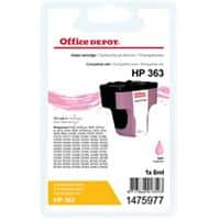 Kompatible Office Depot Tintenpatrone HP 363 1475977 Hell Magenta