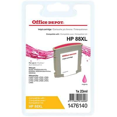 Kompatible Office Depot HP 88XL Tintenpatrone C9392A Magenta