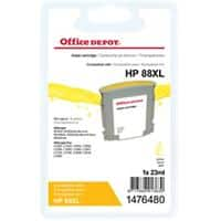 Kompatible Office Depot HP 88XL Tintenpatrone C9393A Gelb