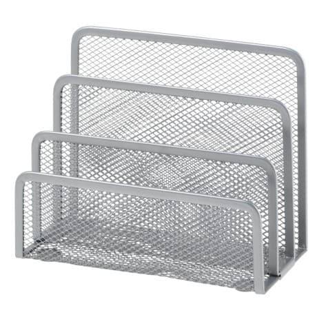 Office Depot Sortierstation Metall Silber 17,5 x 8 x 13,5 cm