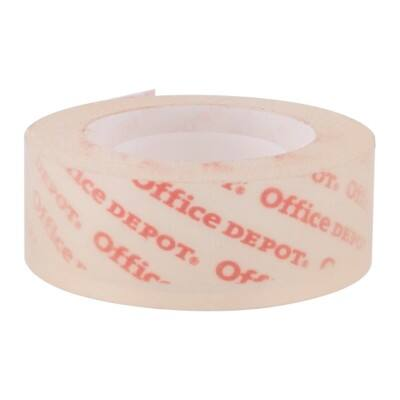 Office Depot Klebefilm Cristal clear 19 mm x 33 m Transparent