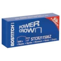 Bostitch Heftklammern Power Crown STCR211506Z 24/6 5000 Heftklammern