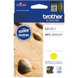 Brother LC-12EY Original Tintenpatrone Gelb