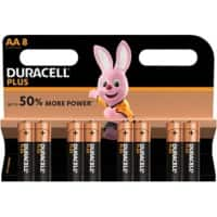 Duracell Batterie Plus Power AA 8 Stück