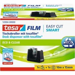 tesa Tischabroller Easy Cut SMART Schwarz