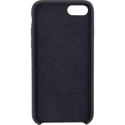 MOBILIZE Silikon Case für Apple iPhone 7 Schwarz
