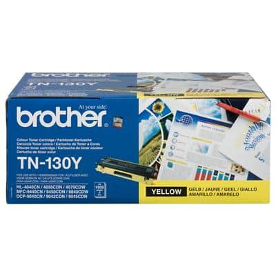 Brother TN-130 Original Tonerkartusche Gelb Gelb