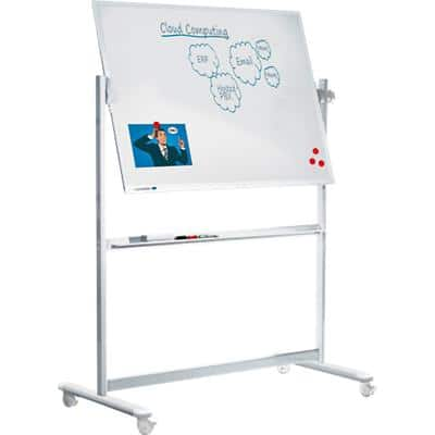 Legamaster Professional Mobiles Whiteboard Emaille Magnetisch 120 x 90 cm