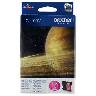 Brother LC1100M Original Tintenpatrone Magenta