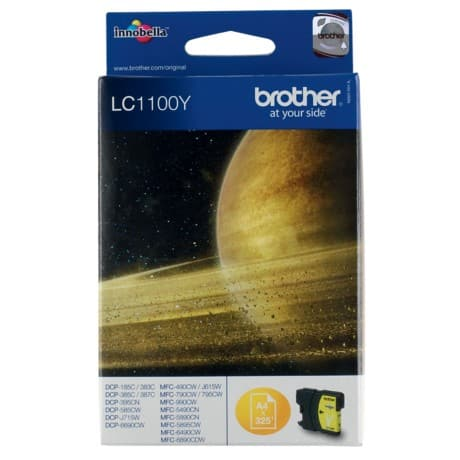 Brother LC1100Y Original Tintenpatrone Gelb
