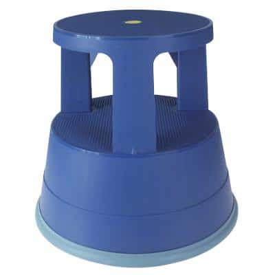 Office Depot Tritthocker Two Step Blau 41,5 x 41,5 x 37,4 cm