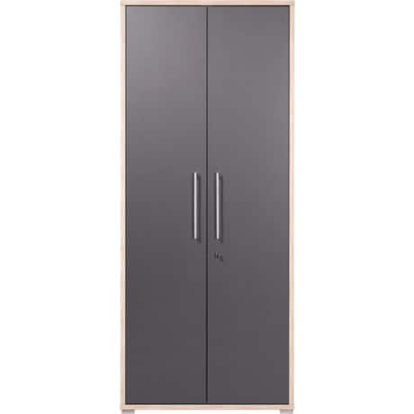 GERMANIA Schrank Duo Anthrazit 75 x 38 x 185 cm