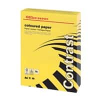 Office Depot Farbiges Papier DIN A4 80 gsm Intensives Gelb 500 Blatt