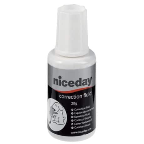 Niceday Korrekturfluid Fluid 20 ml