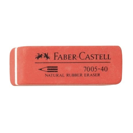 Faber-Castell Radierer 7005-41 Rot