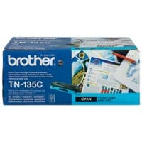 Brother Original TN-135C Tonerkartusche Cyan