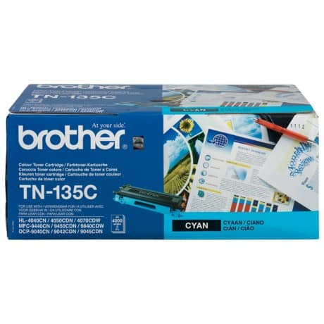 Brother TN-135C Original Tonerkartusche Cyan