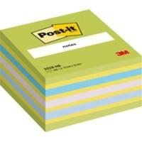 Post-it Haftnotizenwürfel 76 x 76 mm Cube Neon Blau 450 Blatt