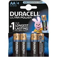 Duracell Batterie Ultra Power AA 4 Stück