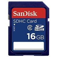 SanDisk SD Speicherkarte SD High Capacity 16 GB