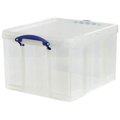 Really Useful Boxes Aufbewahrungsbox 42CCB 42 L Transparent Kunststoff 44 x 52 x 31 cm