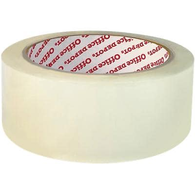 Office Depot Verpackungsklebeband Industrial 38 mm x 66 m Transparent