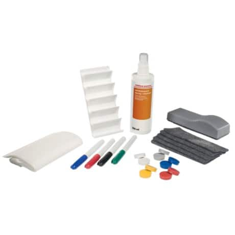 Office Depot Whiteboard Starter-Kit Deluxe Mehrfarbig