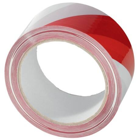 Citius International Signalklebeband Rot-Weiß 50 mm x 66 m Rot, Weiß