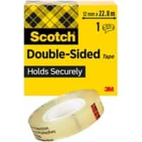 Scotch Klebeband Double Sided 12 mm x 22,8 m Transparent