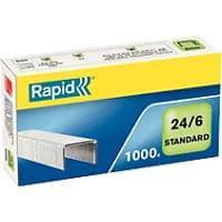Rapid 24855800 Heftklammern Strong 24//6 galvanisiert