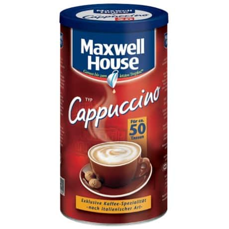 Maxwell House Instant Cappuccino Cappuccino 500 g