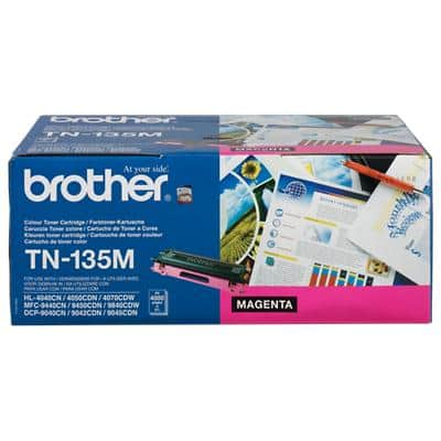 Brother TN-135M Original Tonerkartusche Magenta