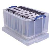 Really Useful Box Aufbewahrungsbox 64CCB 64 L Transparent Kunststoff 44 x 71 x 31 cm